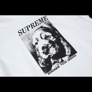 """Supreme """"Remember your friends"""" Tee"""